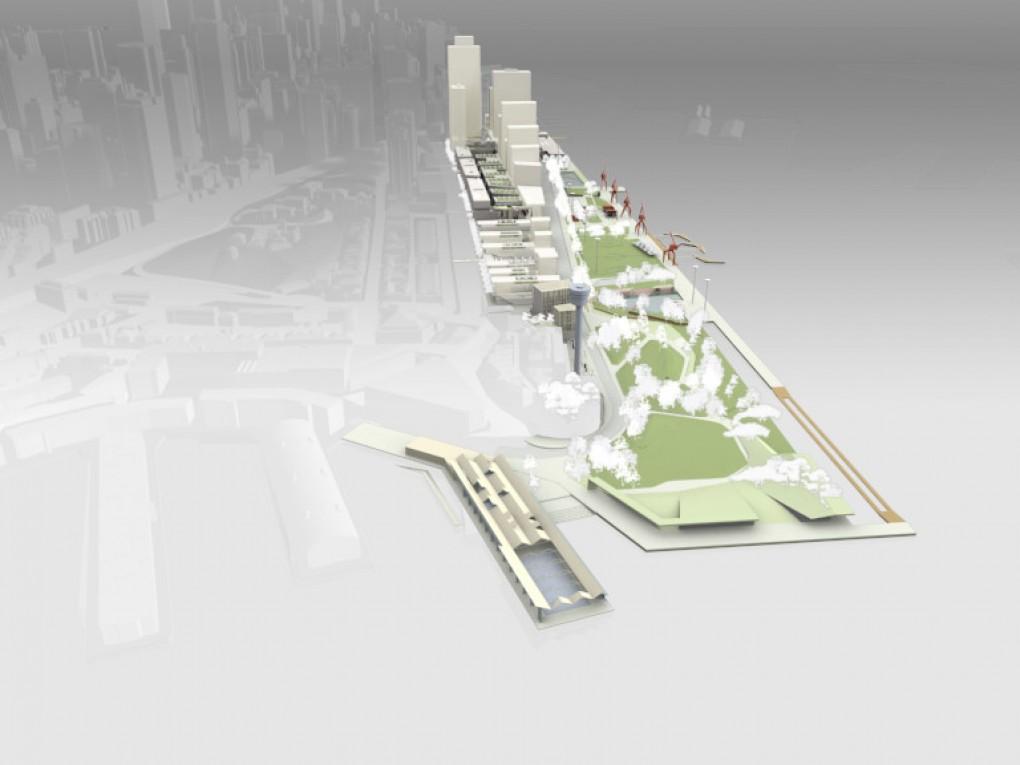 East Darling Harbour Visualisation