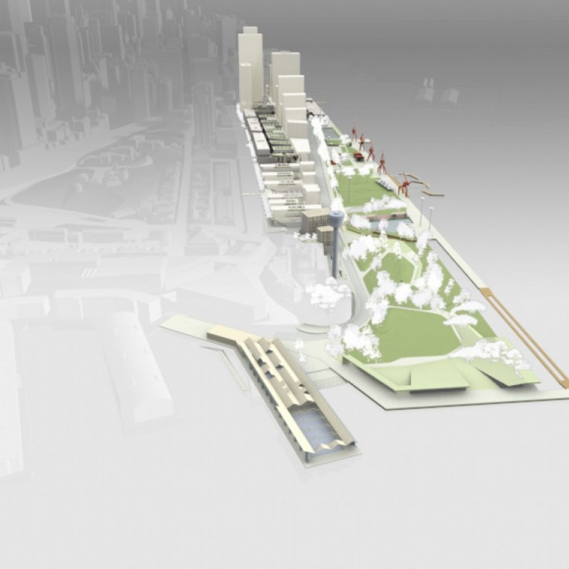 East Darling Harbour Visualisation